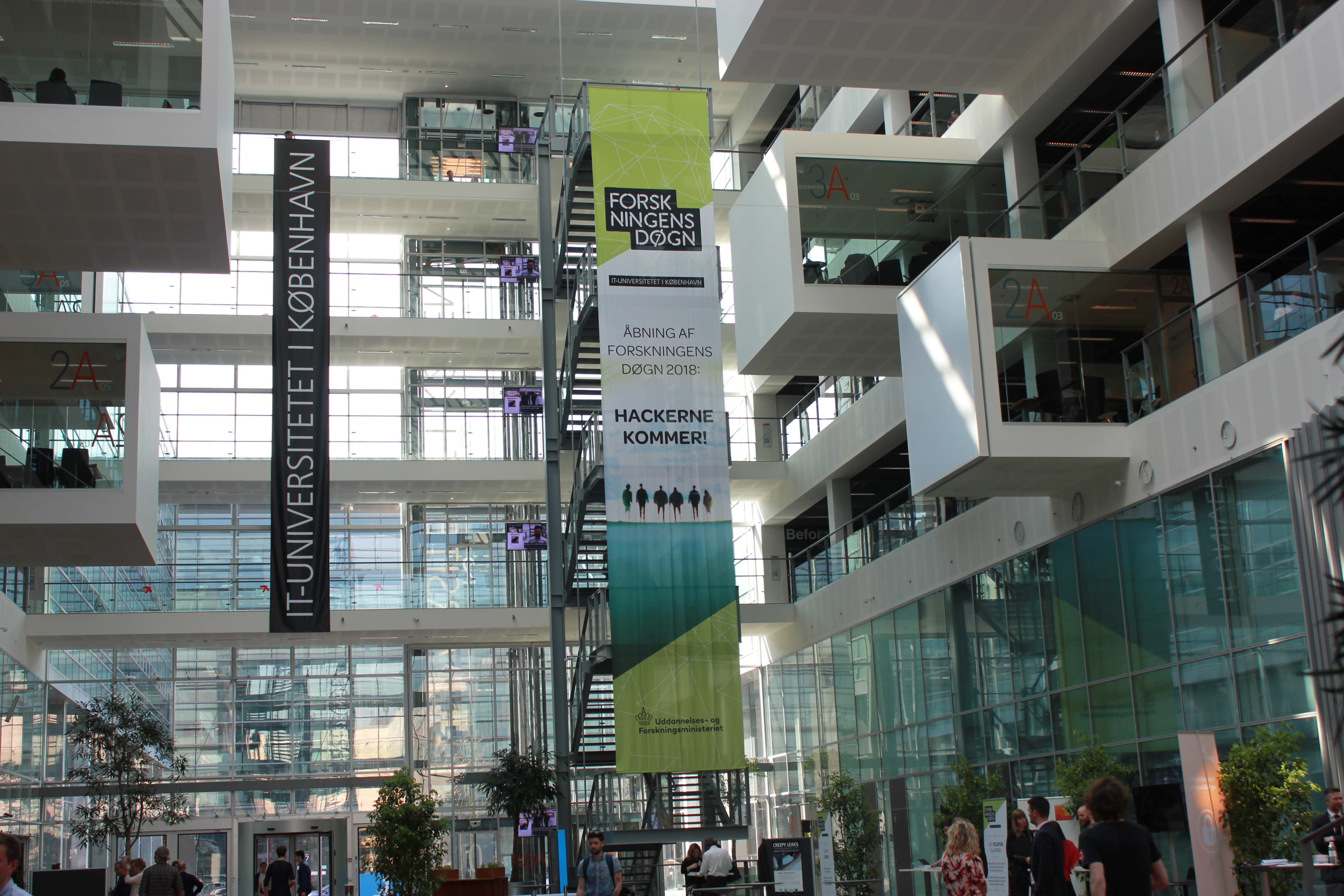 ITU, hacking, forskningsensdøgn