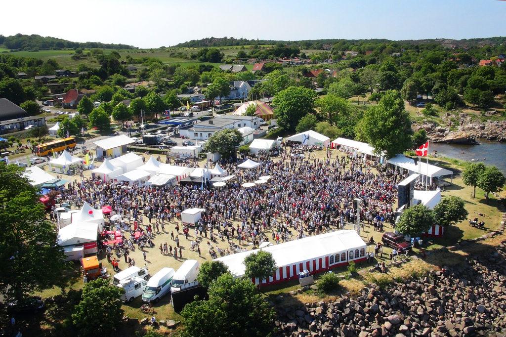 Folkemødet i Allinge på Bornholm begynder torsdag 14. juni