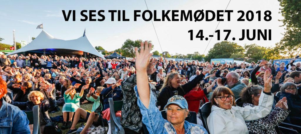 Folkemødet i Allinge på Bornholm 14. til 17. juni 2018